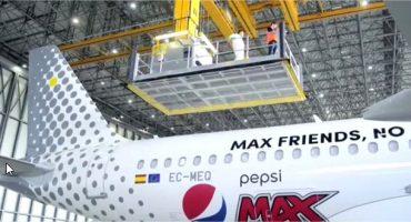 Vueling et Pepsi s'allient pour proposer des « zones affaires » à bord