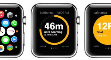 Lufthansa lance son application pour Apple Watch