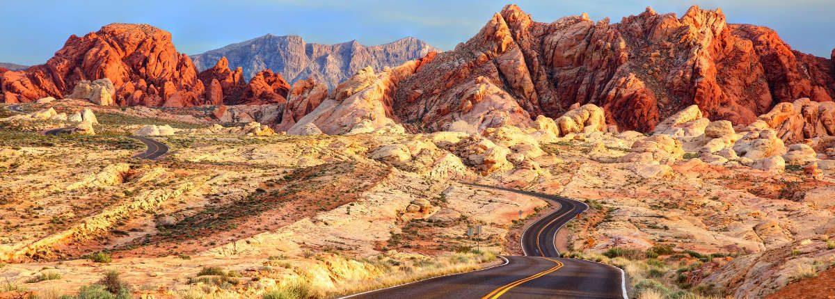 Vallée du feu, Nevada, USA istock