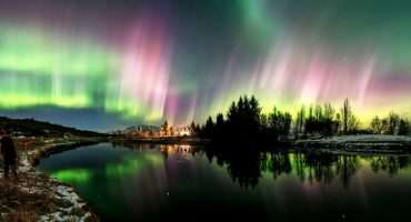 Vidéo – des aurores boréales magiques en Islande