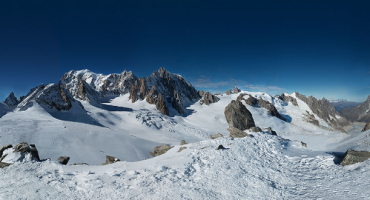Le Mont Blanc en photo, la plus grande du monde