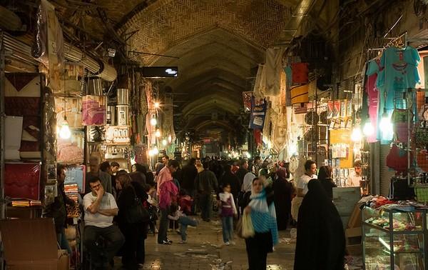 teheran bazar