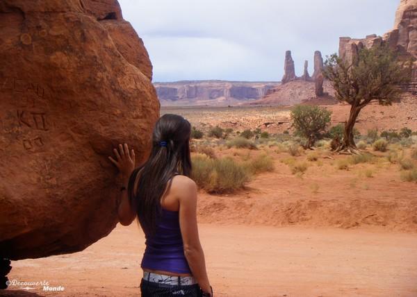 Au cœur des paysages de Monument Valley.