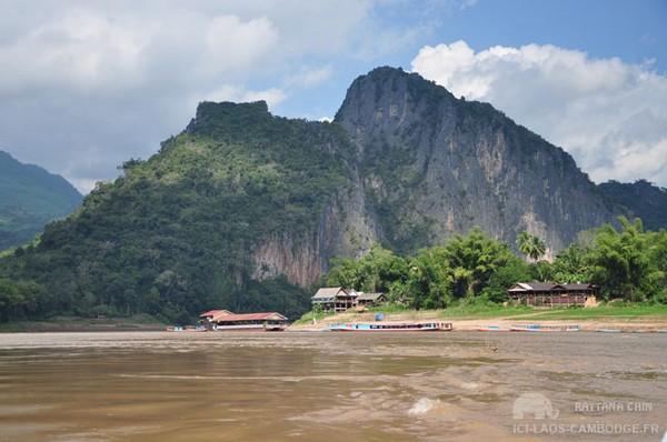 Sur la Nam Ou, au Laos.