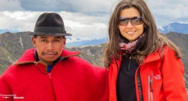 Rachel des États-Unis à la Colombie