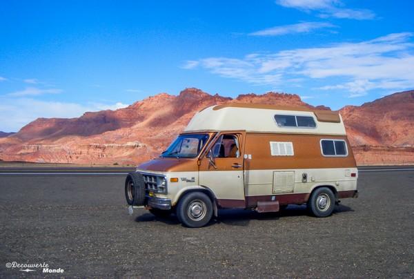 Ma van qui m'a permis de faire mon road trip de 5 mois à travers le Canada et les USA.