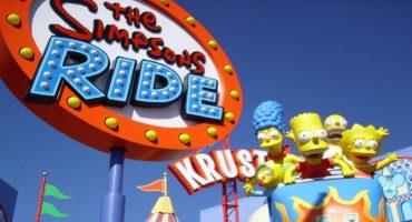 Les Studios Universal lancent le Simpsons tour