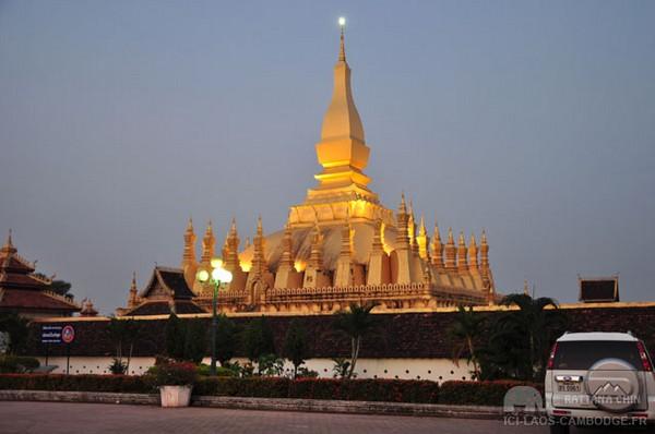 That Luang au Laos.