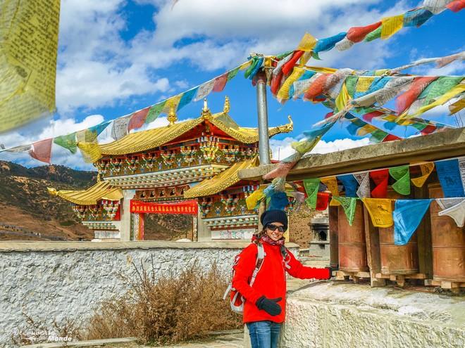 À Shangri-La dans le Yunnan lors de mon premier voyage en Chine.