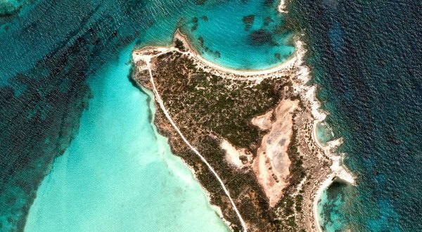 Google earth view Bahamas