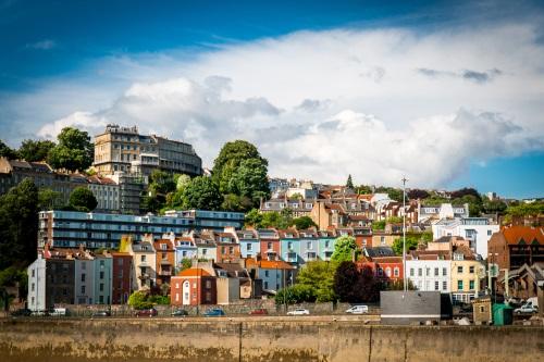 Bristol en Angleterre