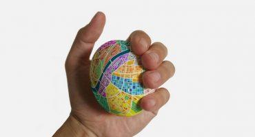 Après le Rubik Cube, la Hongrie nous offre la Egg Map