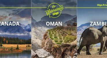 «Les Explorateurs» – Gagnez un voyage pour 2 en votant pour la destination de l'année !