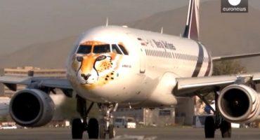 En Iran, les avions d'une compagnie grimés en guépards