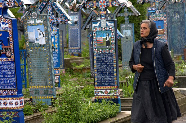 The Merry Cemetery, Sapanta, Romania