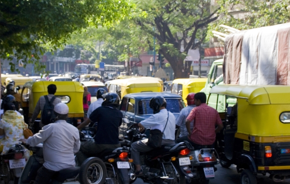 Embouteillage à Bangalore