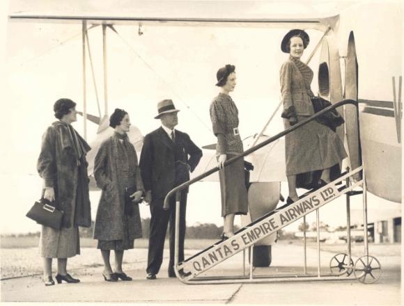 passagers-qantas-embarquement-1930
