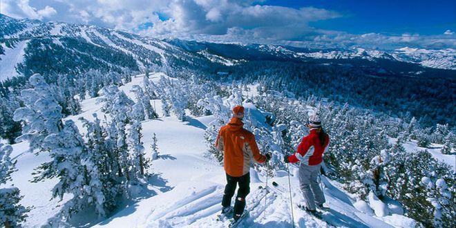ski insolite