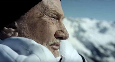 Heureux comme un astronaute dans les montagnes suisses