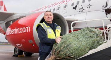 airberlin transporte gratuitement votre sapin de Noël !
