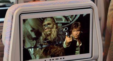 Faites-vous un marathon Star Wars dans l'avion !