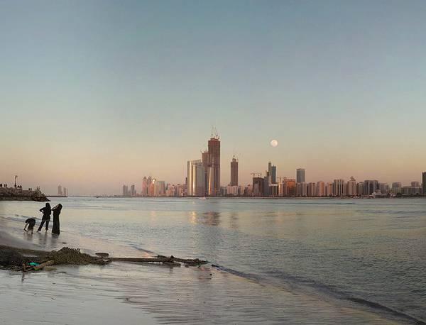 plage à abu dabhi