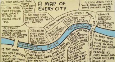 La carte de toutes les villes du monde