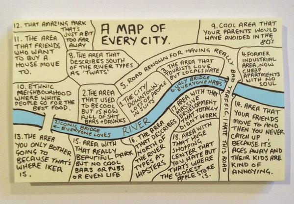 carte de toutes les villes