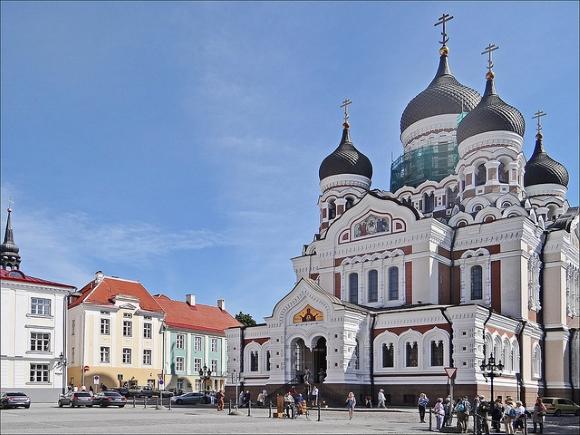 cathédrale orthodoxe de Tallinn