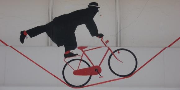 street art vélo