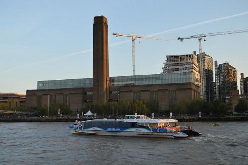 La Tate Modern et son immense cheminée
