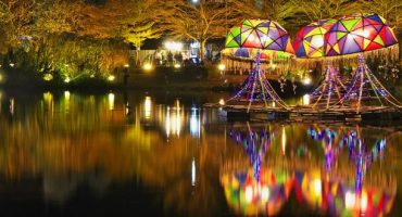 C'est la fête des lanternes  à Taïwan !