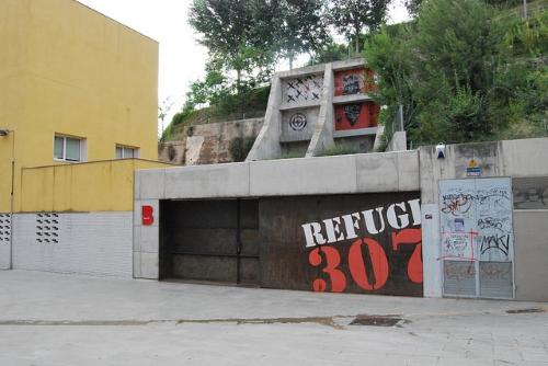 Refuge 307 extérieur
