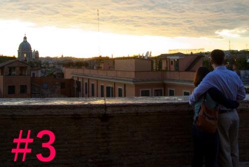 couple à Rome