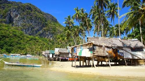 Village de pêcheurs à El Nido