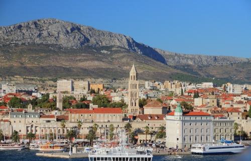 Split, le décor de Meereen