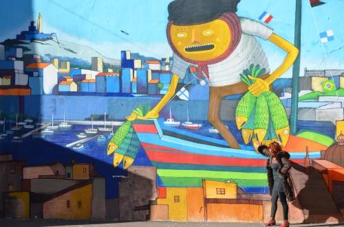 Panier, street art