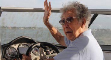 Miss Norma, 90 ans, a choisi le voyage plutôt que la chimio