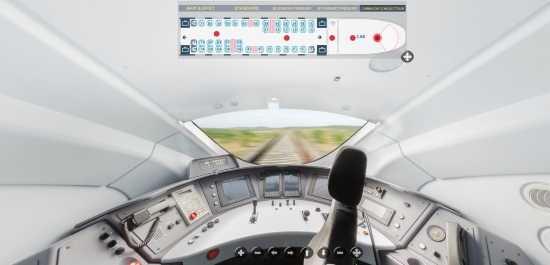 La cabine du conducteur dans les nouveaux e320