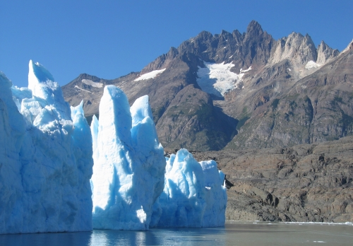 glacier terre de feu Chili