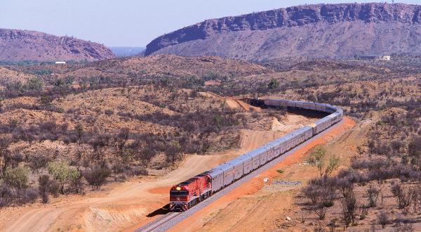 Ghan Australie iStock