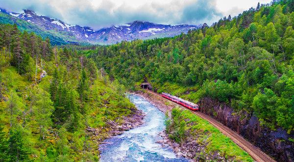 Le Flåmsbana, en Norvège IStock