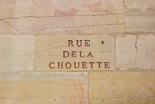 Dijon rue de la Chouette
