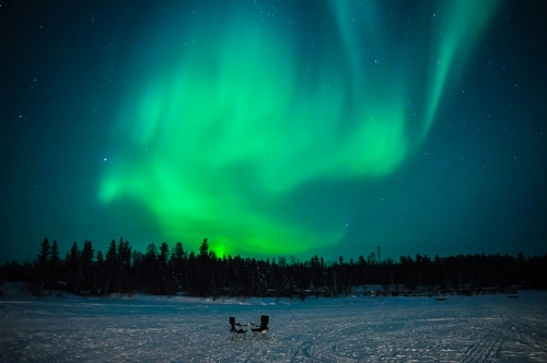 aurore boréale northern territories