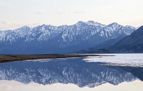 Les montagnes du parc Kluane