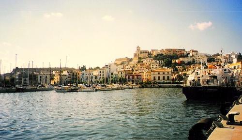 Le port d'Ibiza