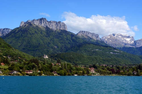 Annecy montagne lac