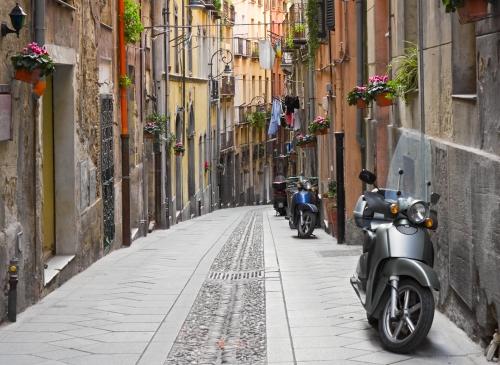 Cagliari ruelle