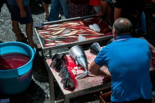 marché au poissons Catane