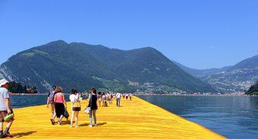 Marchez sur l'eau, grâce à cette installation italienne